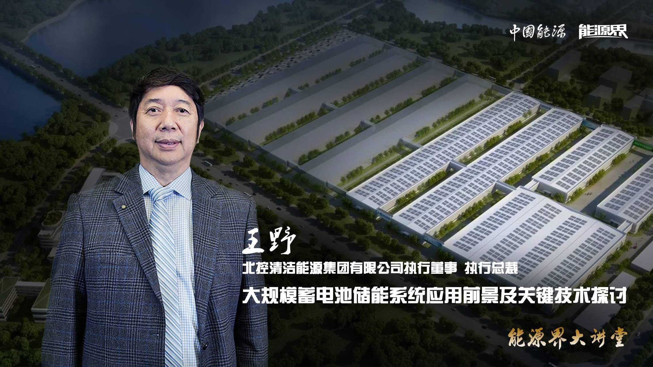 王野:大规模蓄电池新浦京系统应用前景及关键技术探讨
