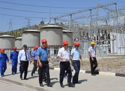 塔吉克斯坦首条超高压输变电线路工程顺利竣工
