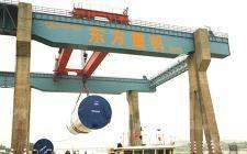 广东省首个大功率海上风电项目首套5.5MW塔筒发运