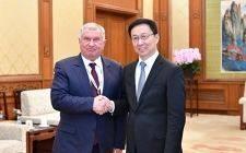 首届中俄能源商务论坛在北京钓鱼台国宾馆举行
