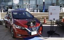 日产使用车对电网技术为美国运营提供动力