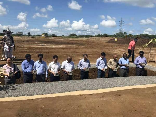 中企承建的斯里兰卡南部变电站项目开工