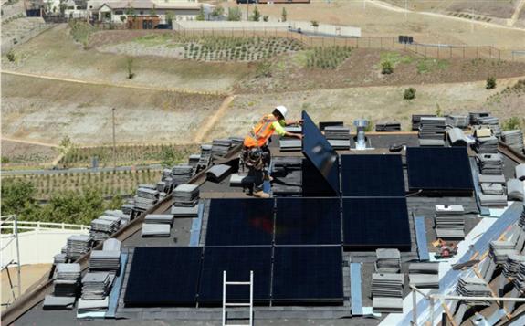 加利福尼亚将强制要求新房安装太阳能