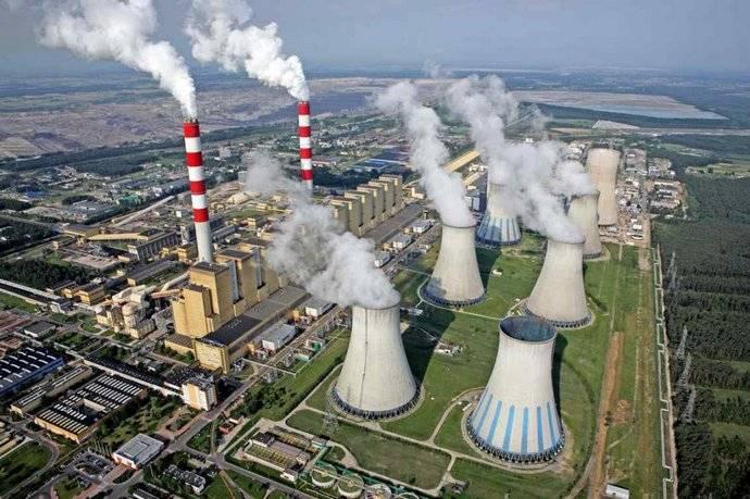 乌克兰的热力发电被认为是世界上效率最低,成本最低的