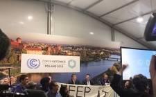 托维兹COP24的谈判代表已在波兰达成气候协议,支持巴黎协议