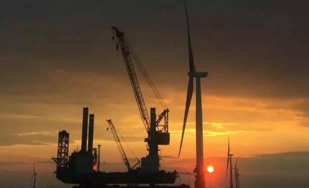 三峡新能源江苏大丰海上风电项目完成国内最大直径单桩沉桩