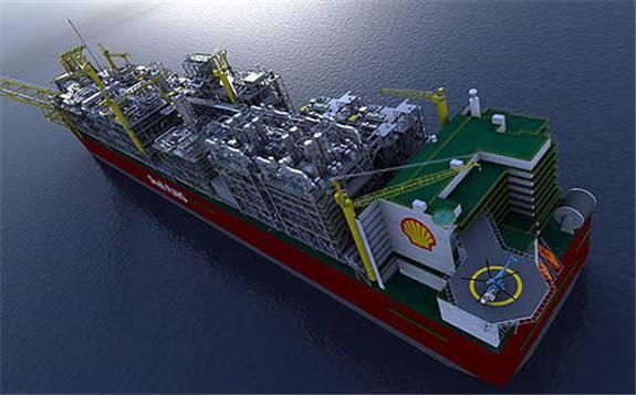 世界上最大的浮式液化天然气平台在澳大利亚开始生产
