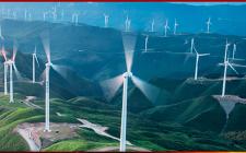 黄河公司共和45万千瓦风电风机全部吊装完成