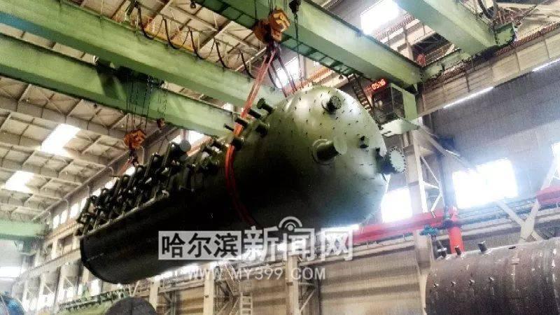 打破国外技术壁垒!哈尔滨产百万核电除氧器国际领先