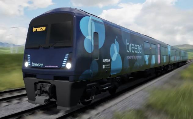 2022年开始,氢燃料电池列车将在英国铁路上运行!