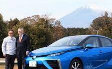奥委会主席访问丰田技术研发中心,讨论燃料电池技术