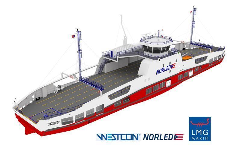 挪威航运企业Norled将建造世界上第一条氢能轮渡!