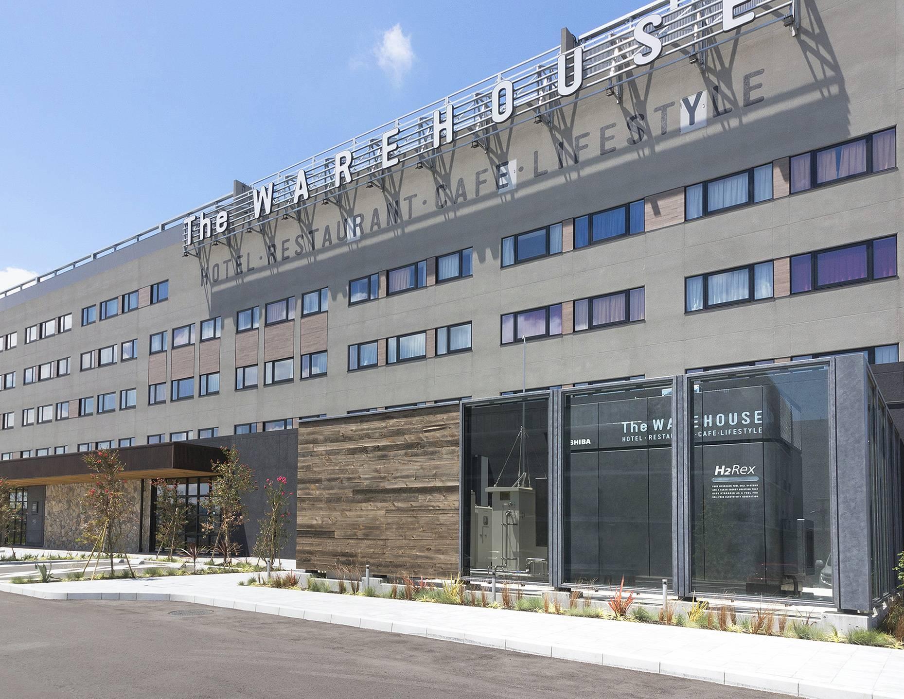 东芝用纯氢燃料电池系统为新酒店提供电力和热水