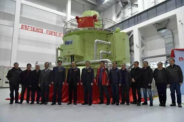 我国首台30万千伏安立式脉冲发电机组研制成功 功率相当小型核电站!
