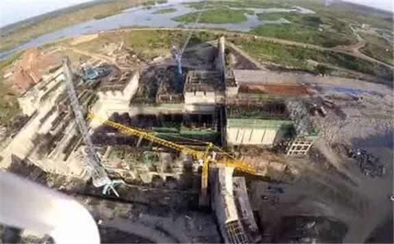 乌干达伊辛巴水电站4台机组全部投产发电