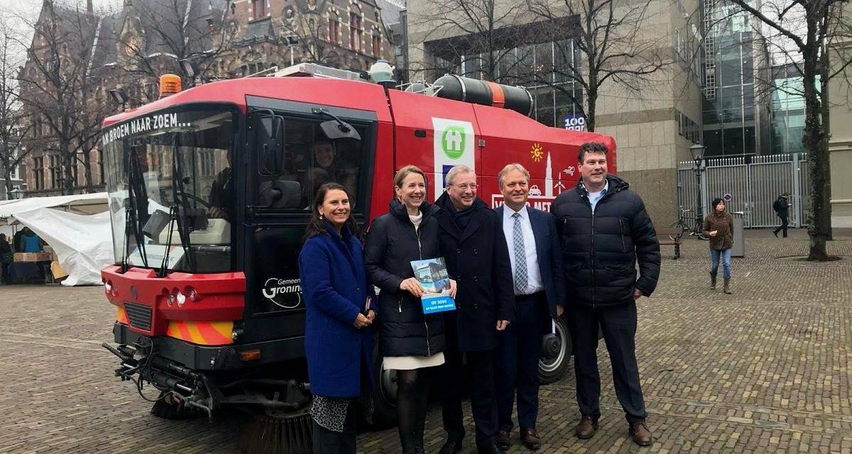 荷兰国务卿Van Veldhoven对荷兰北部雄心勃勃的氢气计划印象深刻