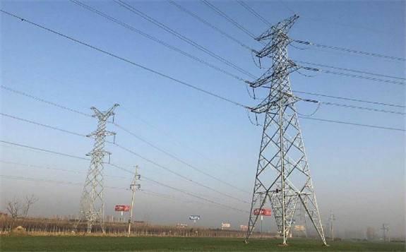 驻马店嵖岈III回220千伏线路工程一次送电成功