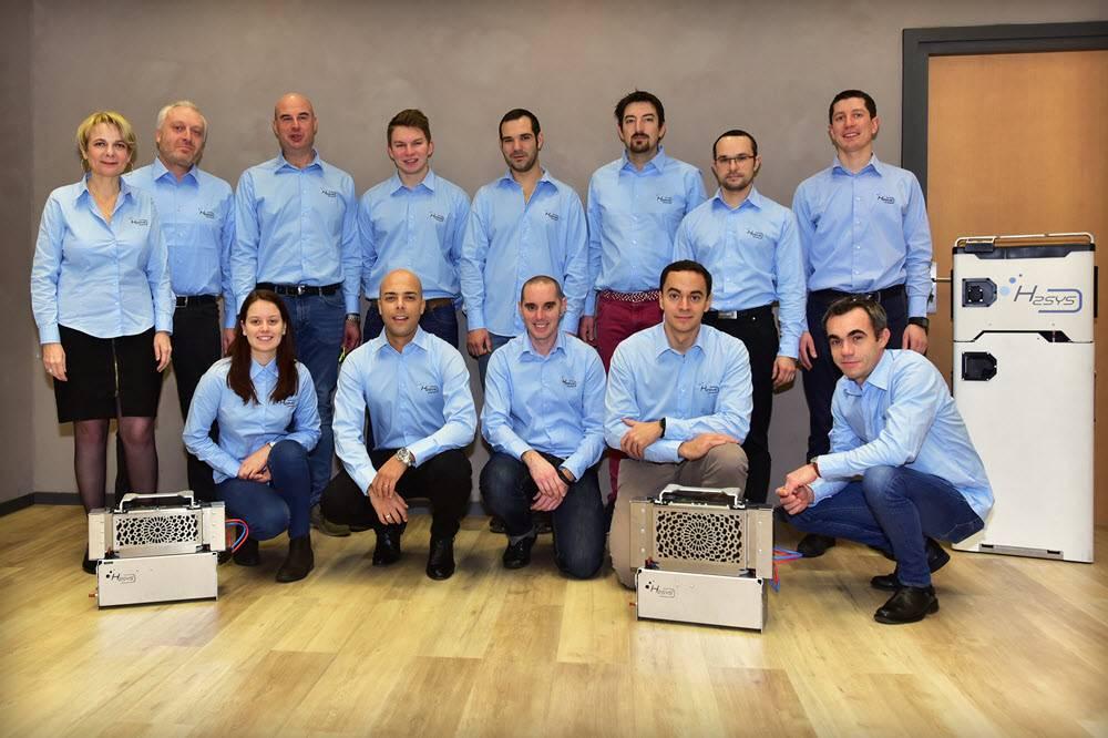 """法国H2SYS开发的氢燃料电池系统和""""零排放""""燃料电池发电机获奖"""