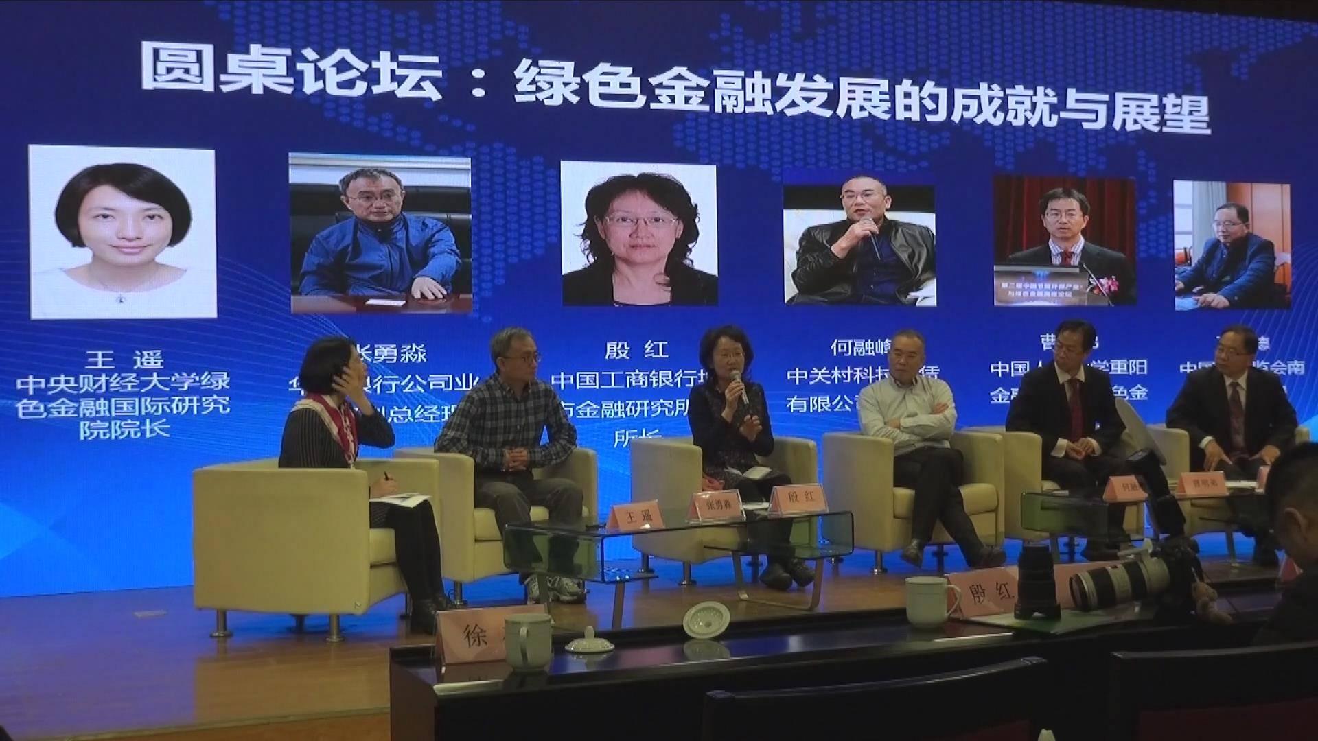 中国节能环保产业与绿色金融高峰论坛,圆桌论坛:绿色金融发展的成就与展望