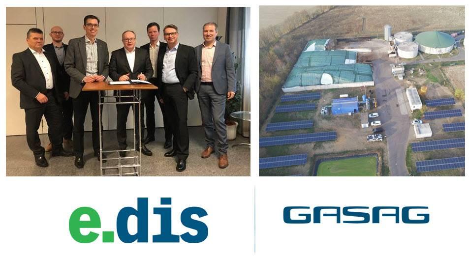 E.DIS和GASAG合作绿色氢能制天然气项目