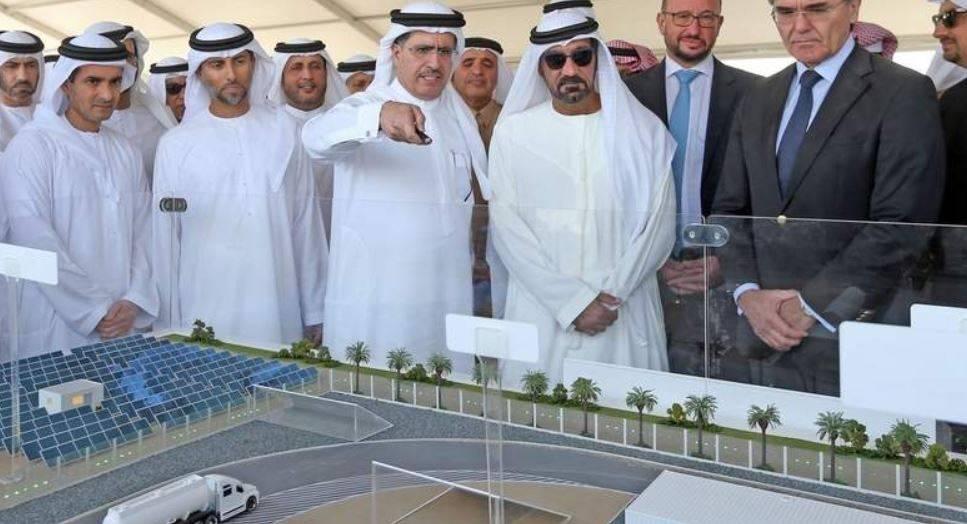 迪拜规划大规模利用太阳能生产氢气