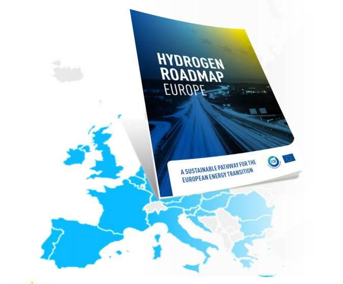 欧洲氢路线图:燃料电池和氢联合承诺发布的欧洲能源转型的可持续途径(FCH JU)