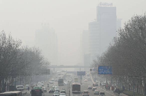 2019年1月份中国北方污染增加16%