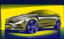 斯柯达将在日内瓦车展上展示其Vision iV电动车概念