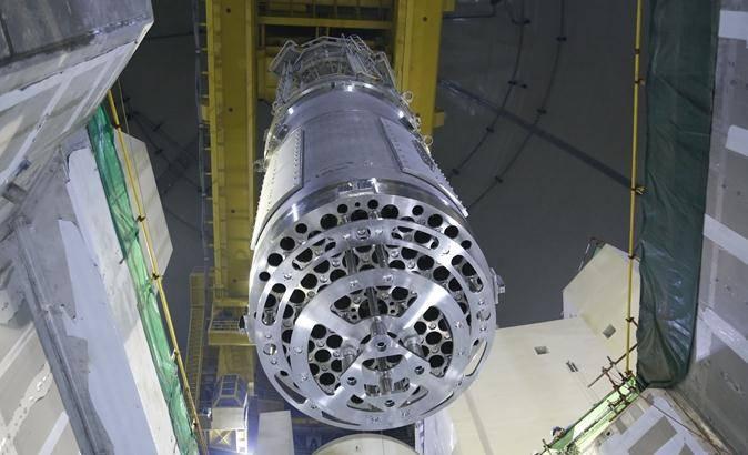 海外华龙一号卡拉奇2号核电机组堆内构件安装完成