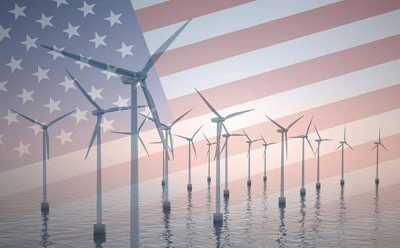 """美国超过4.05亿美元的风电项目已于近期获得批准,超过4.1吉瓦""""绿色""""电力将进入美国供电系统"""