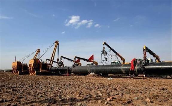 宁夏与内蒙古第一条省(区)际天然气长输管道联络线工程全线贯通
