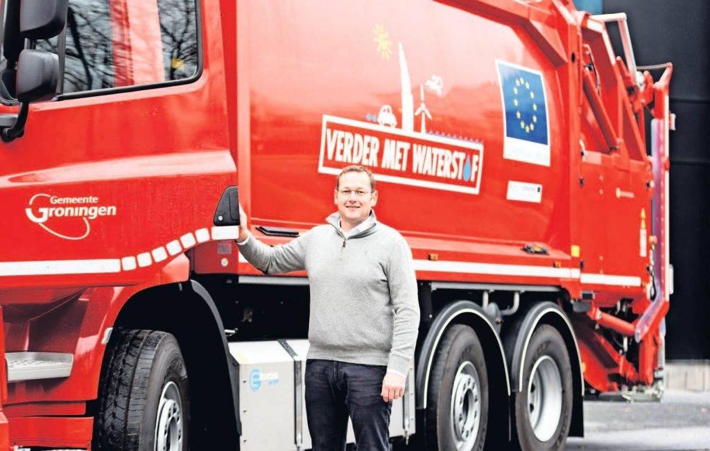E-Trucks Europe正在建造氢电混合动力垃圾车
