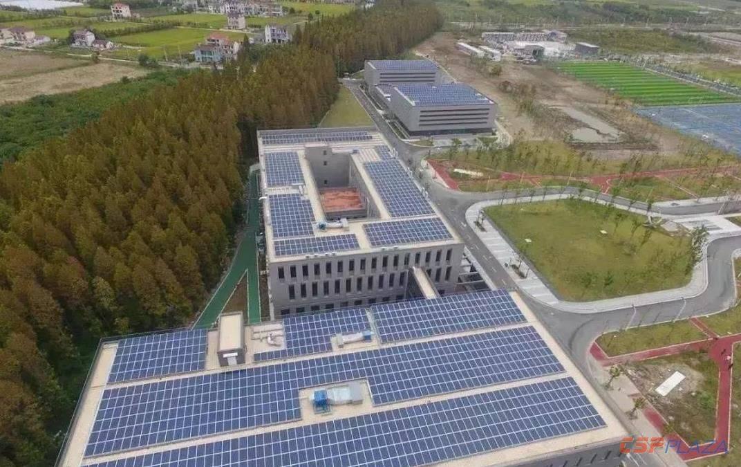 上海电力大学临港新校区综合能源服务典范项目投入运营