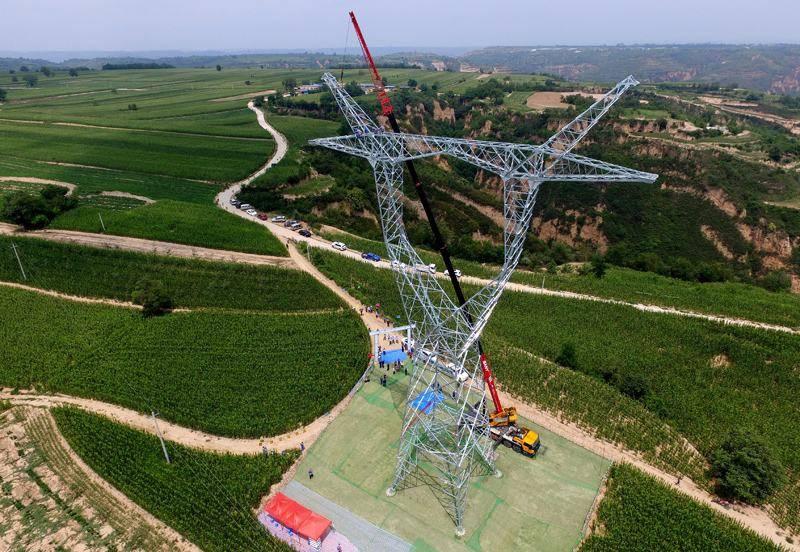 陕北风电基地750千伏集中送出工程北环部分顺利投运