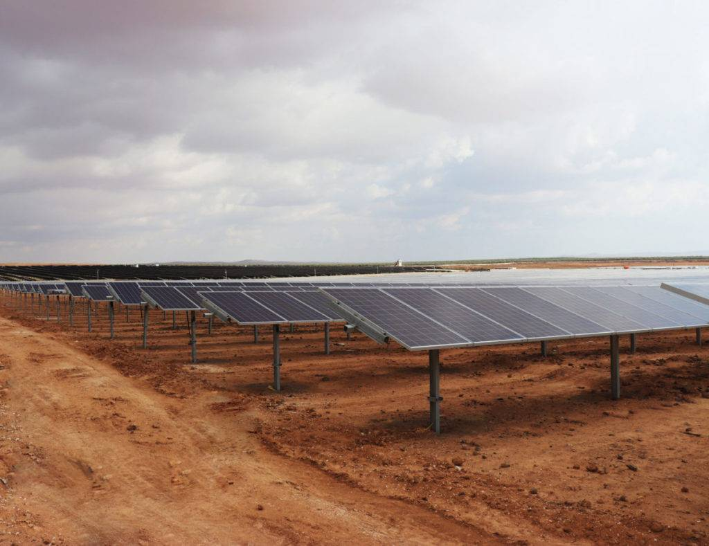中东北非地区最大的一座太阳能+储能电厂正式上线
