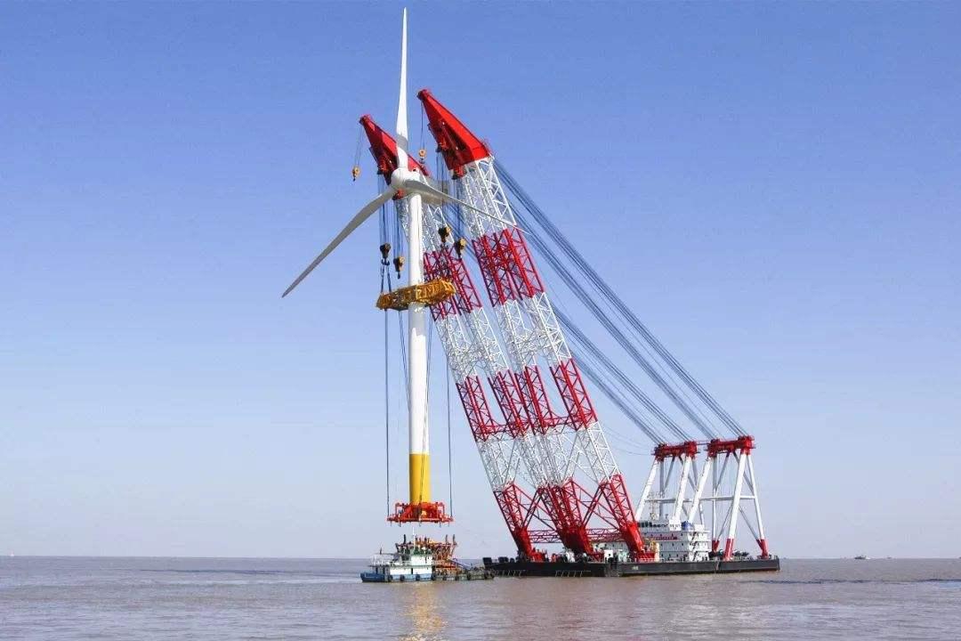 两个全球最重风机单桩基础在中国完成制造!