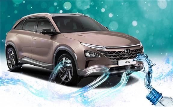 现代考虑推出受氢燃料电池汽车Nexo启发的瓶装水