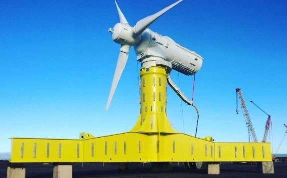 西班牙Magallanes Renovables在欧洲海洋能源中心安装ATIR潮汐涡轮机