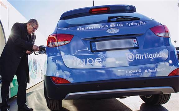 法国液化空气集团在法兰西岛开设第四个加氢站