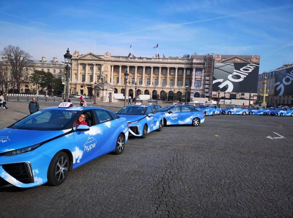 法国氢能社会兴起  2020年底发展600辆零排放氢动力出租车!