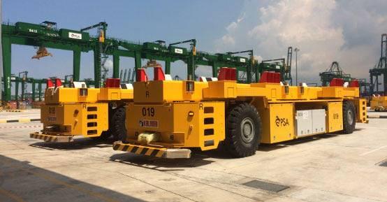 微宏动力为国内宁波港和全新加坡PSA提供港口运输动力系统解决方案,为绿色港口贡献力量