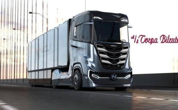 TorpaBilruter运输公司订购三辆Nikola Tre氢动力卡车,加入重型卡车运输车队