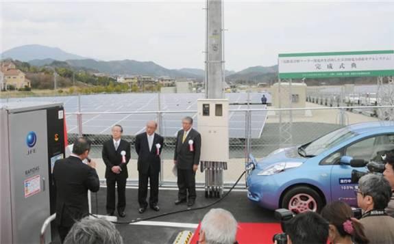 日本将进一步推动电动汽车在灾难中的能源应急能力