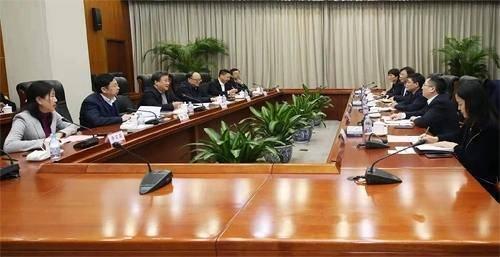 中核集团与交通银行高层领导会晤,就进一步深化合作进行商谈