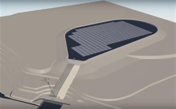 浮动太阳能光伏电站将安装在立陶宛的Kruonis抽水蓄能电站