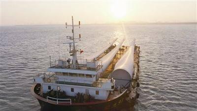 我国已吊装海上风机容量纪录刷新至7.25兆瓦