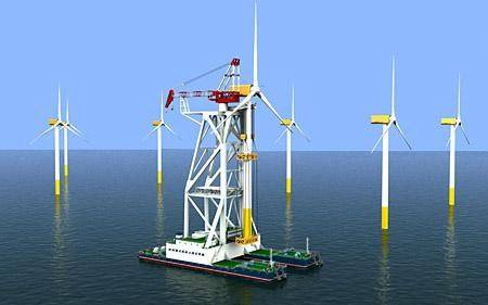 单机容量最大海上风机在广东成功吊装
