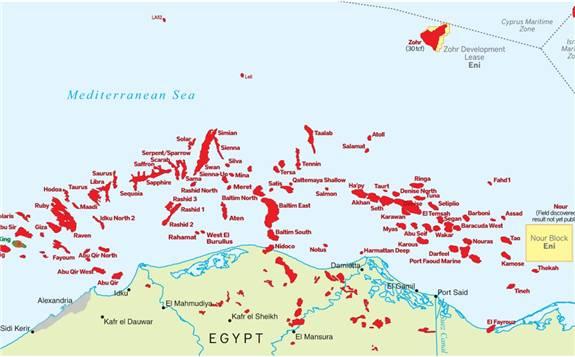 天然气淘金热,埃及的天然气行业正在蓬勃发展