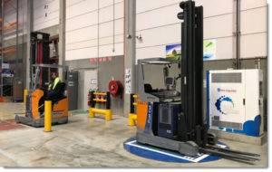 氢燃料电池技术驱动清洁叉车