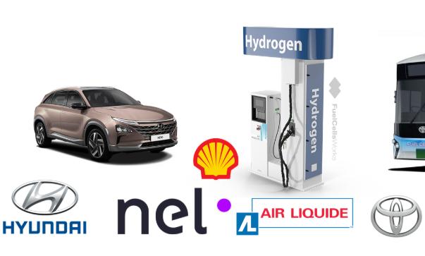 多家跨国公司合作开发商用氢燃料灌装零件 加速商用氢燃料汽车推广